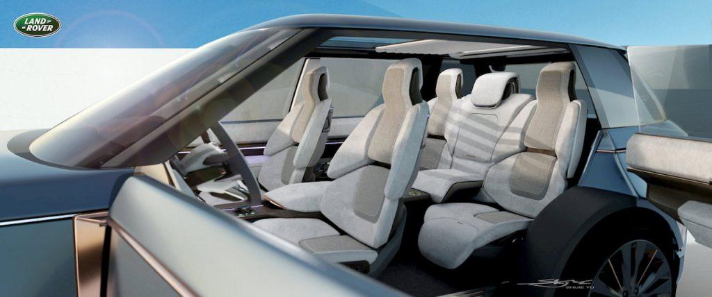 Range Rover Nouvel seats