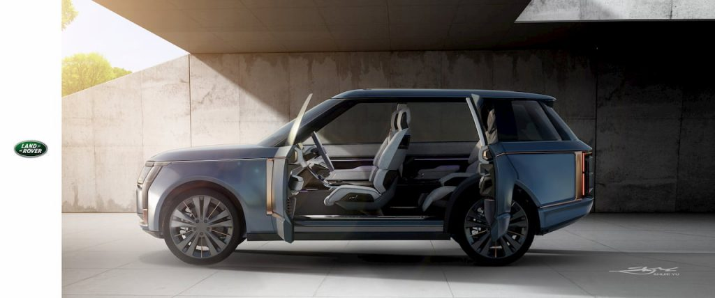 Range Rover Nouvel side view