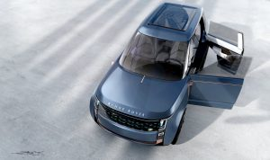 Range Rover Nouvel top view