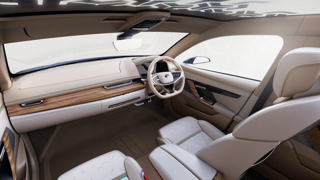 Tata EVision interior