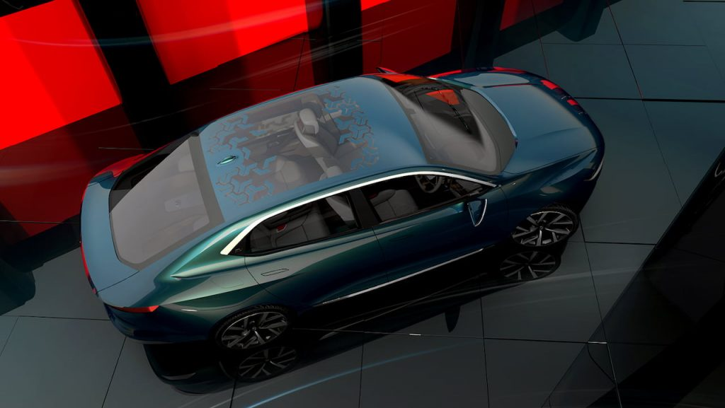 Tata EVision roof