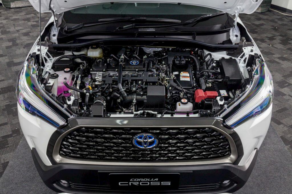 Toyota Corolla Cross Hybrid Engine photo