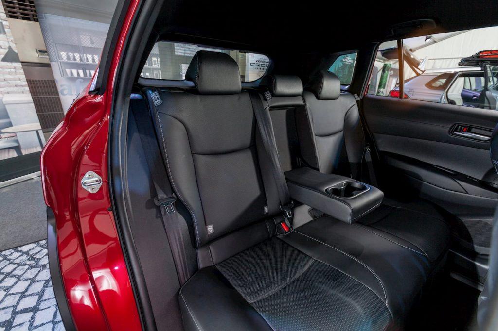 Toyota Corolla Cross Hybrid rear seat photo