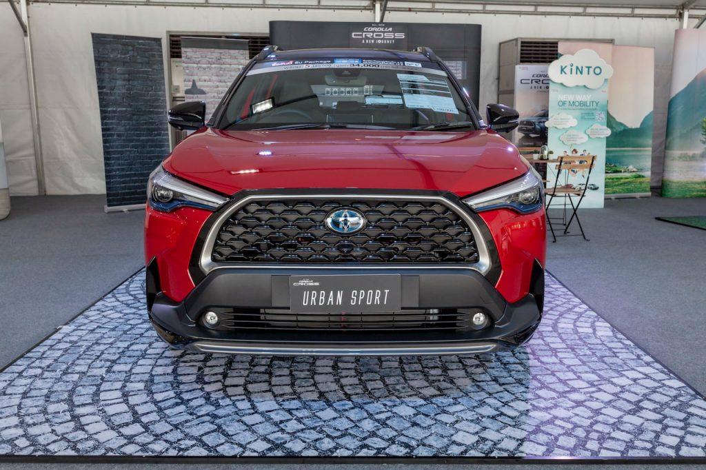 Toyota Corolla Cross Urban Sport front