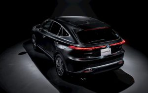 Toyota Harrier Hybrid taillamp design