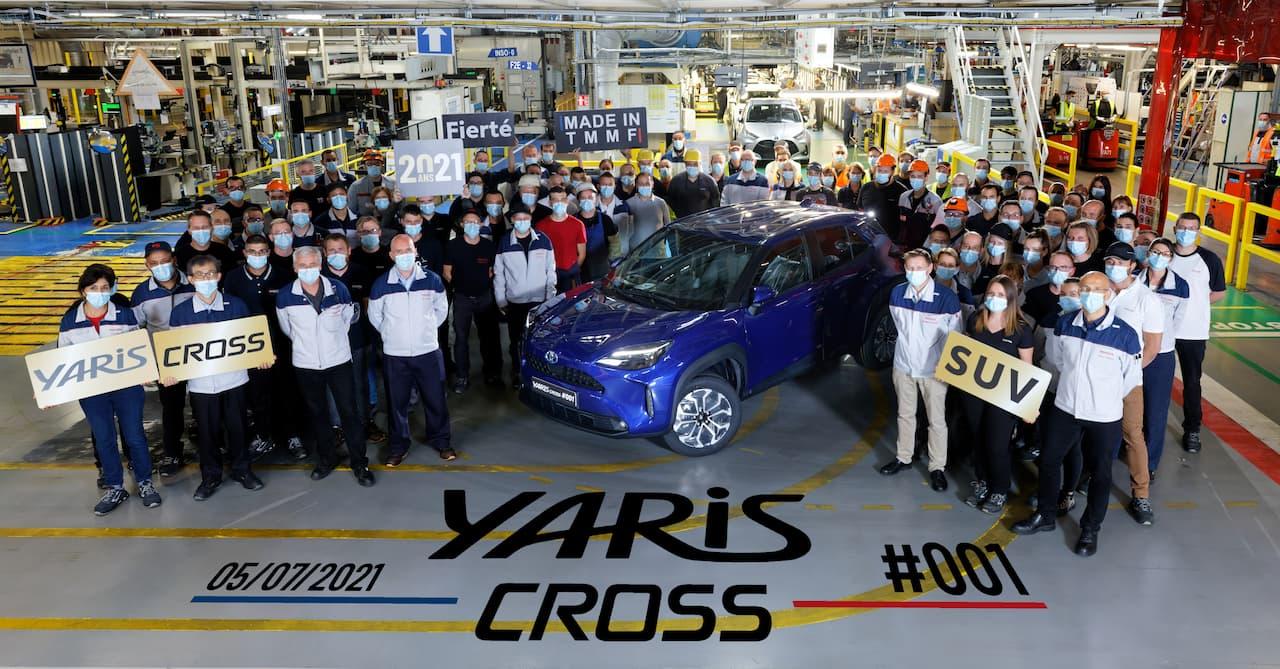 Toyota Yaris Cross Hybrid production