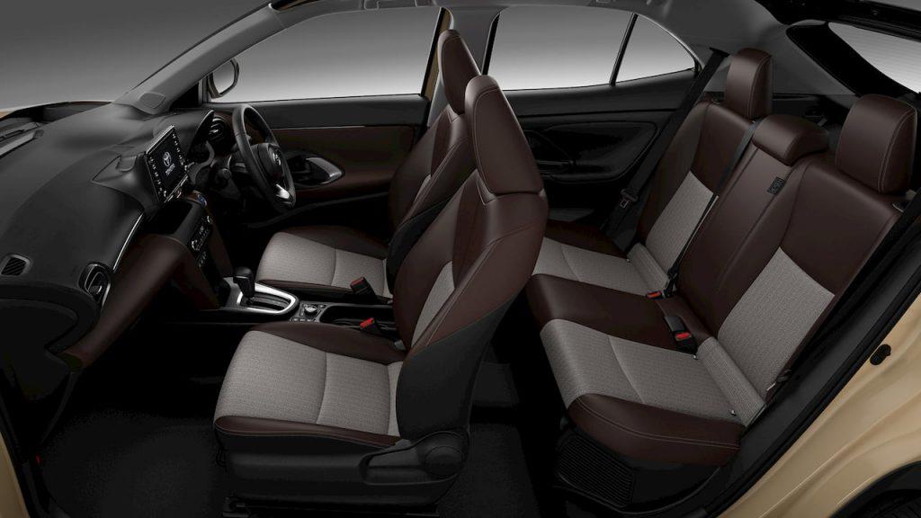 Toyota Yaris Cross Hyrid seats