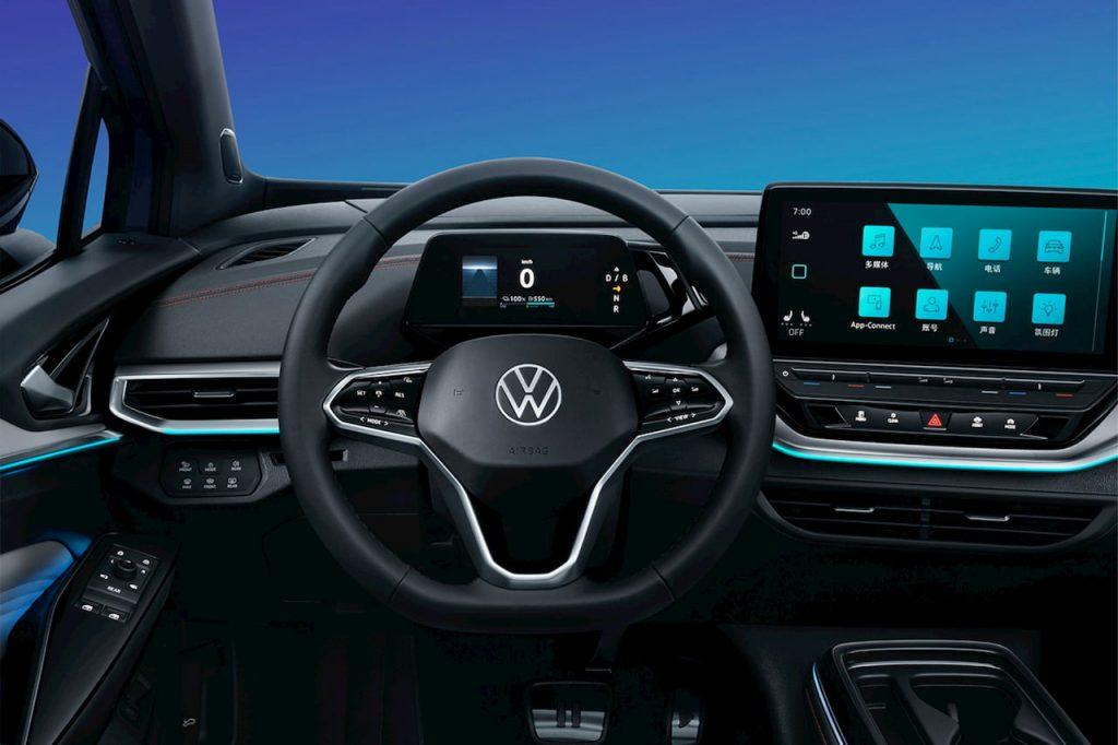 VW ID.4 X dashboard driver side