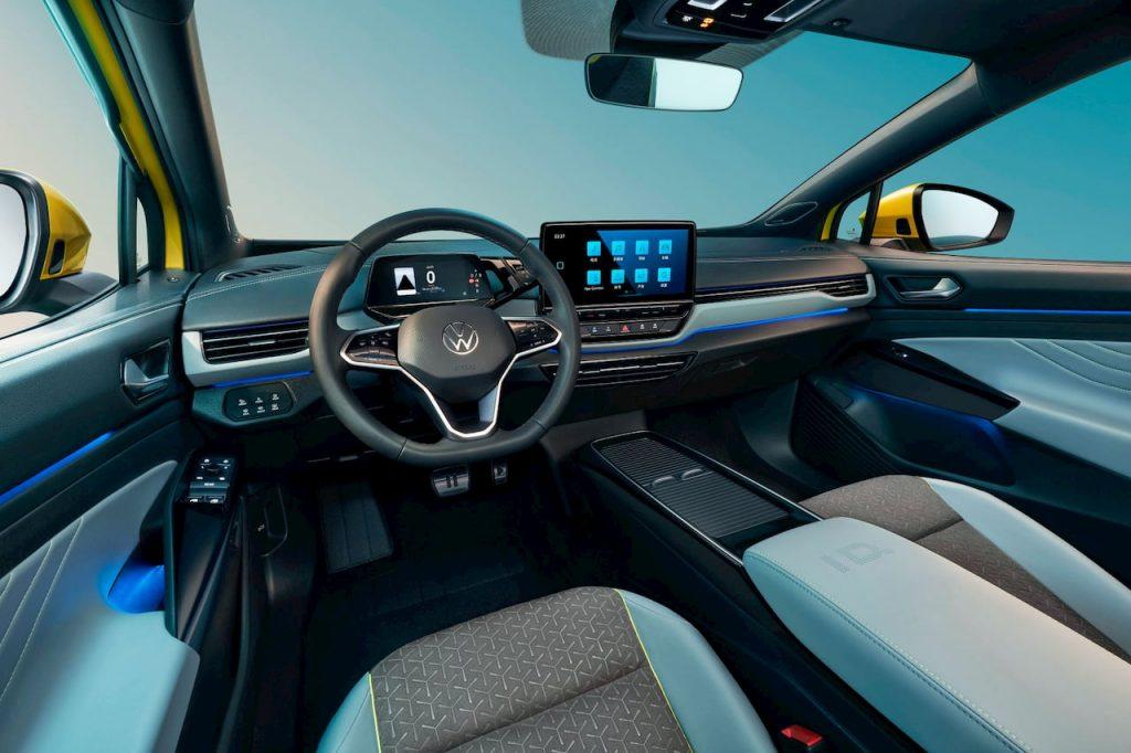 VW ID.4 X interior dashboard