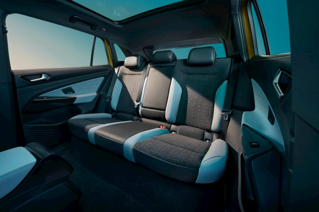 VW ID.4 X rear seats
