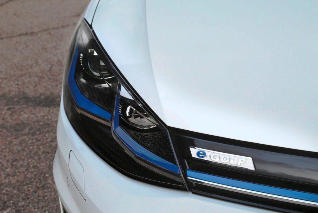 Volkswagen e-Golf grille