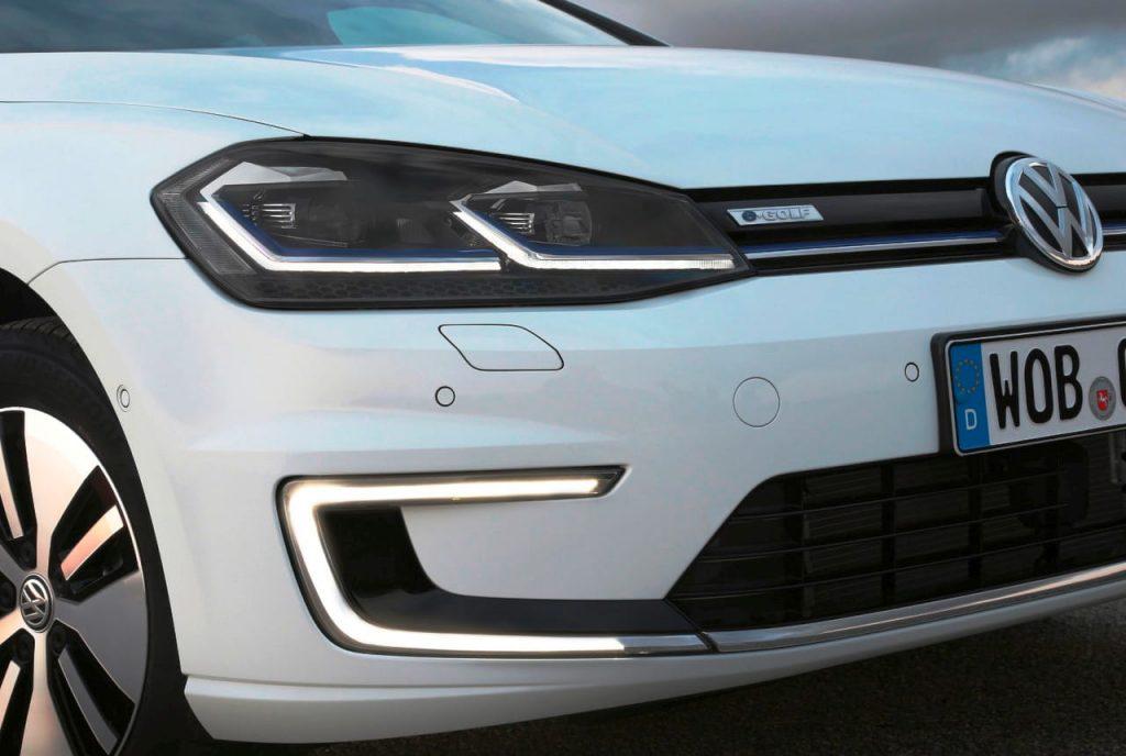 Volkswagen e-Golf headlamps