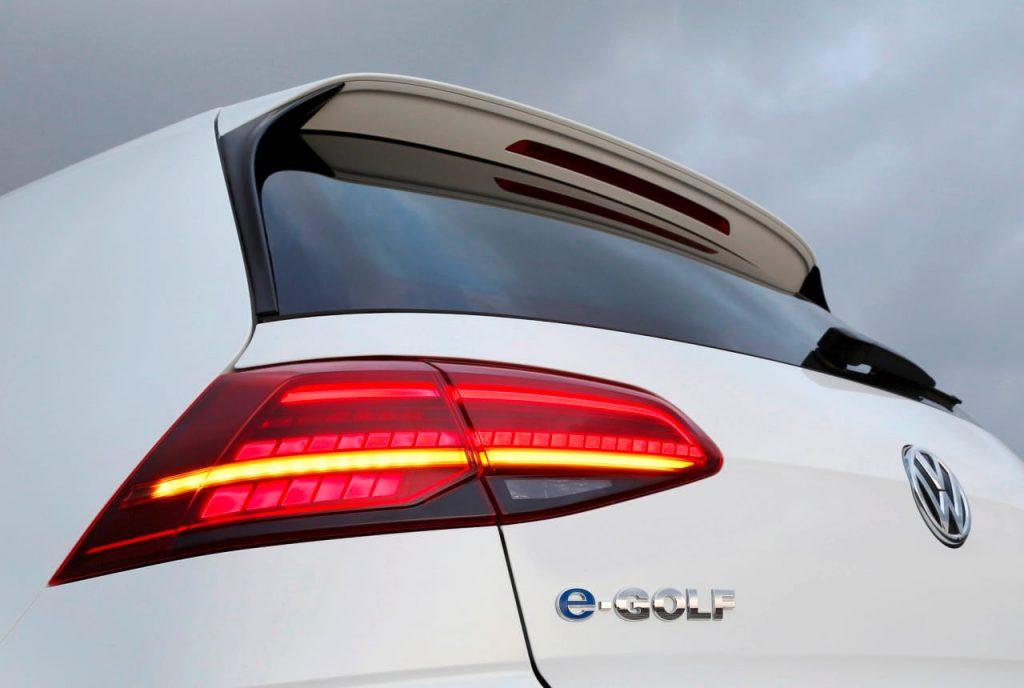 Volkswagen e-Golf tail lights