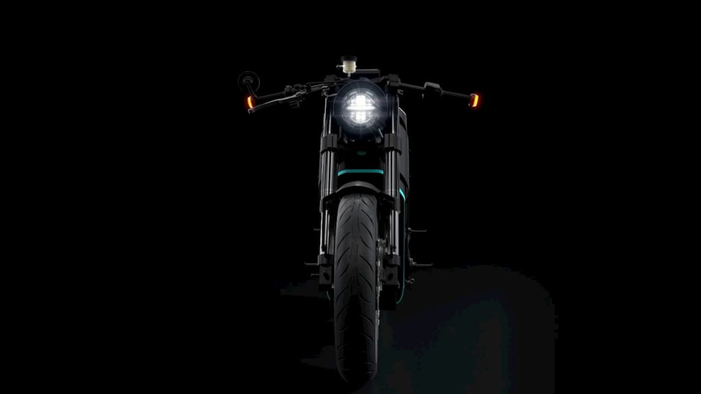 Yatri P-Zero electric motorcycle front