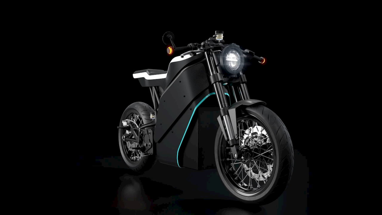 Yatri P-Zero electric motorcycle
