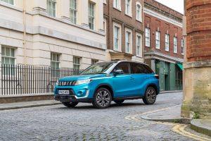 2020 Suzuki Vitara mild hybrid front quarters UK