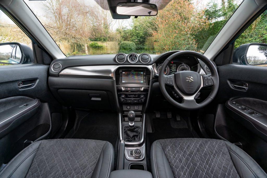 2020 Suzuki Vitara mild hybrid interior UK
