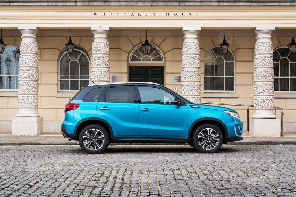 2020 Suzuki Vitara mild hybrid profile UK