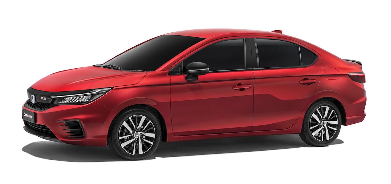 2021 Honda City Hybrid exterior Malaysia 2020