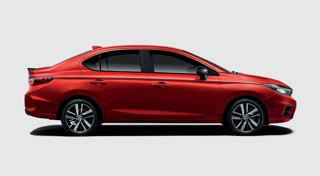 2021 Honda City Hybrid profile side