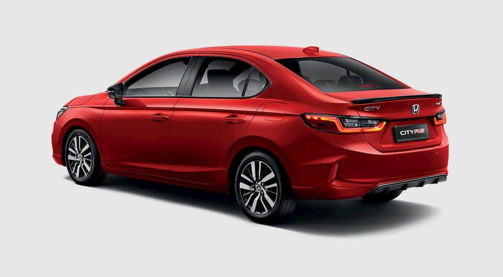 2021 Honda City Hybrid rear quarters