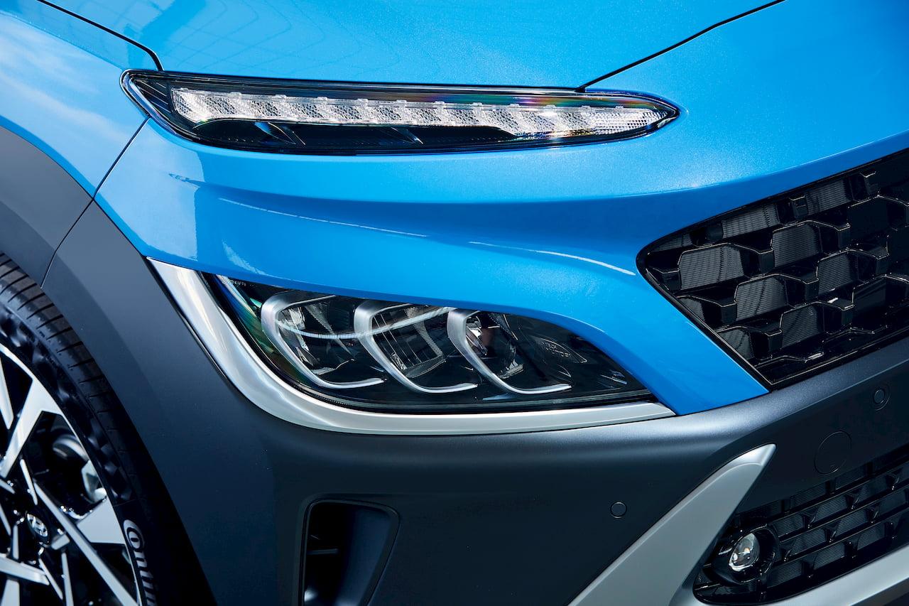 2021 Hyundai Kona facelift lights