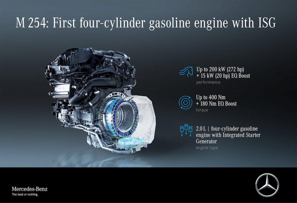 2021 Mercedes E-Class facelift M 254 mild hybrid ISG