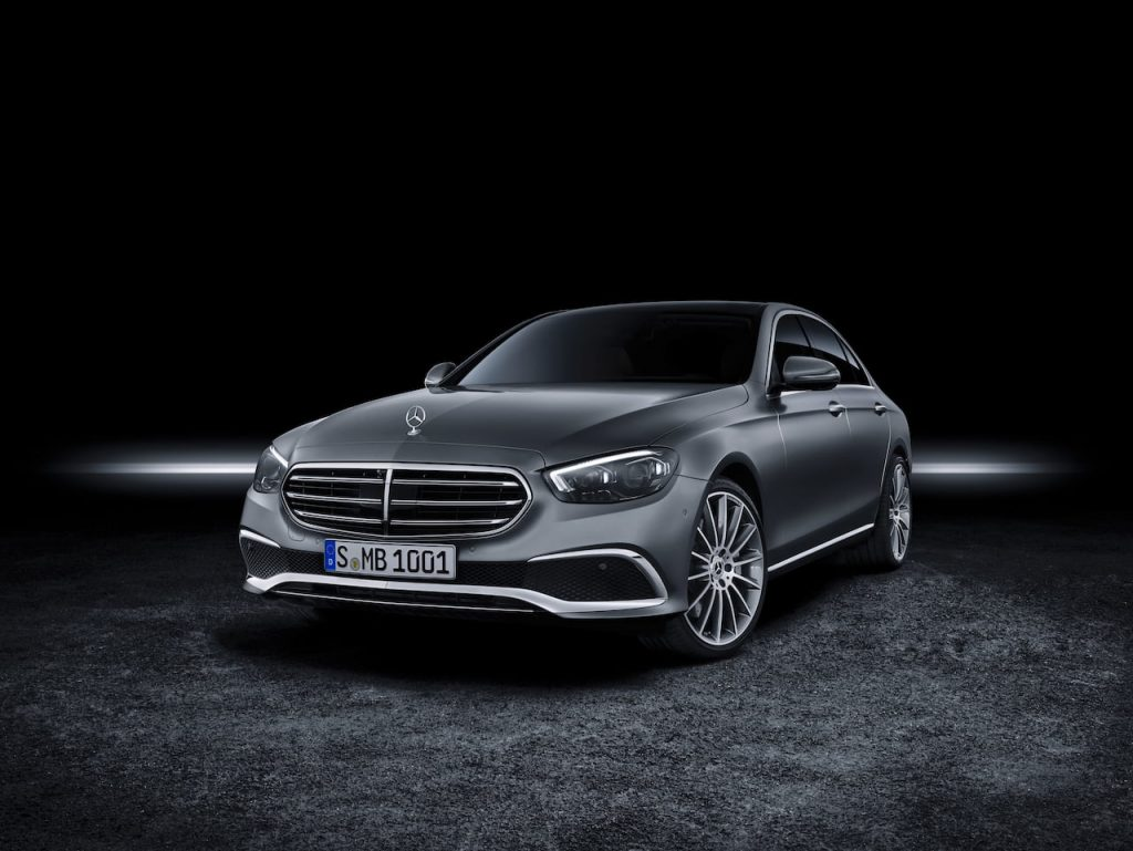 2021 Mercedes E-Class facelift front quarters