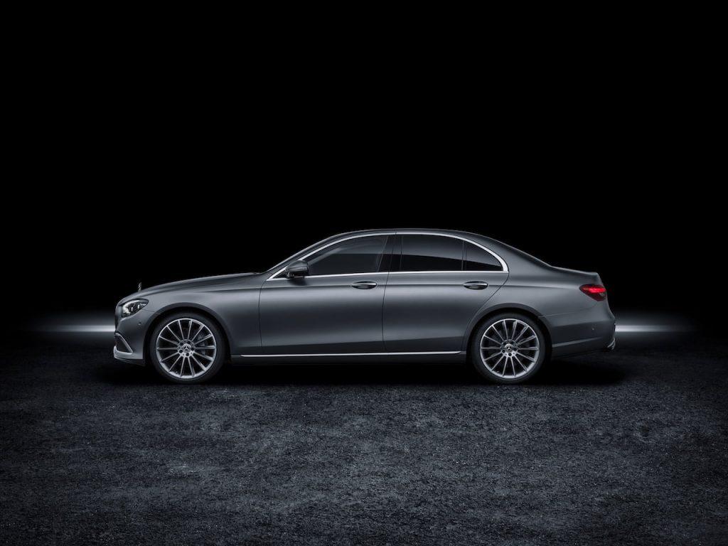2021 Mercedes E-Class facelift profile side