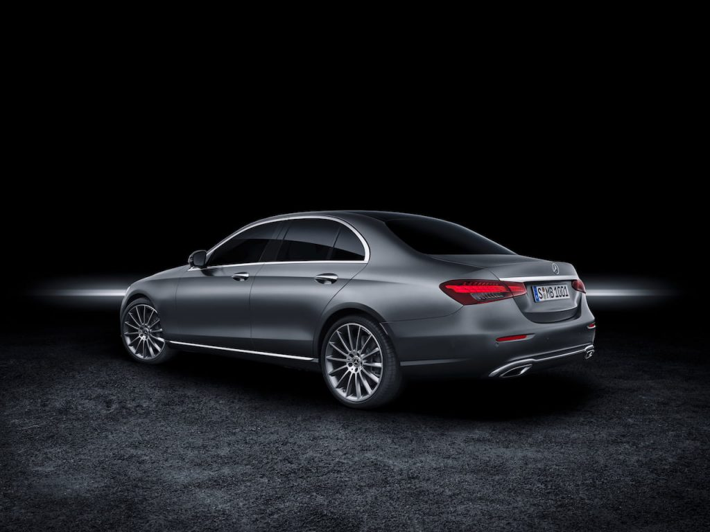 2021 Mercedes E-Class facelift rear quarters