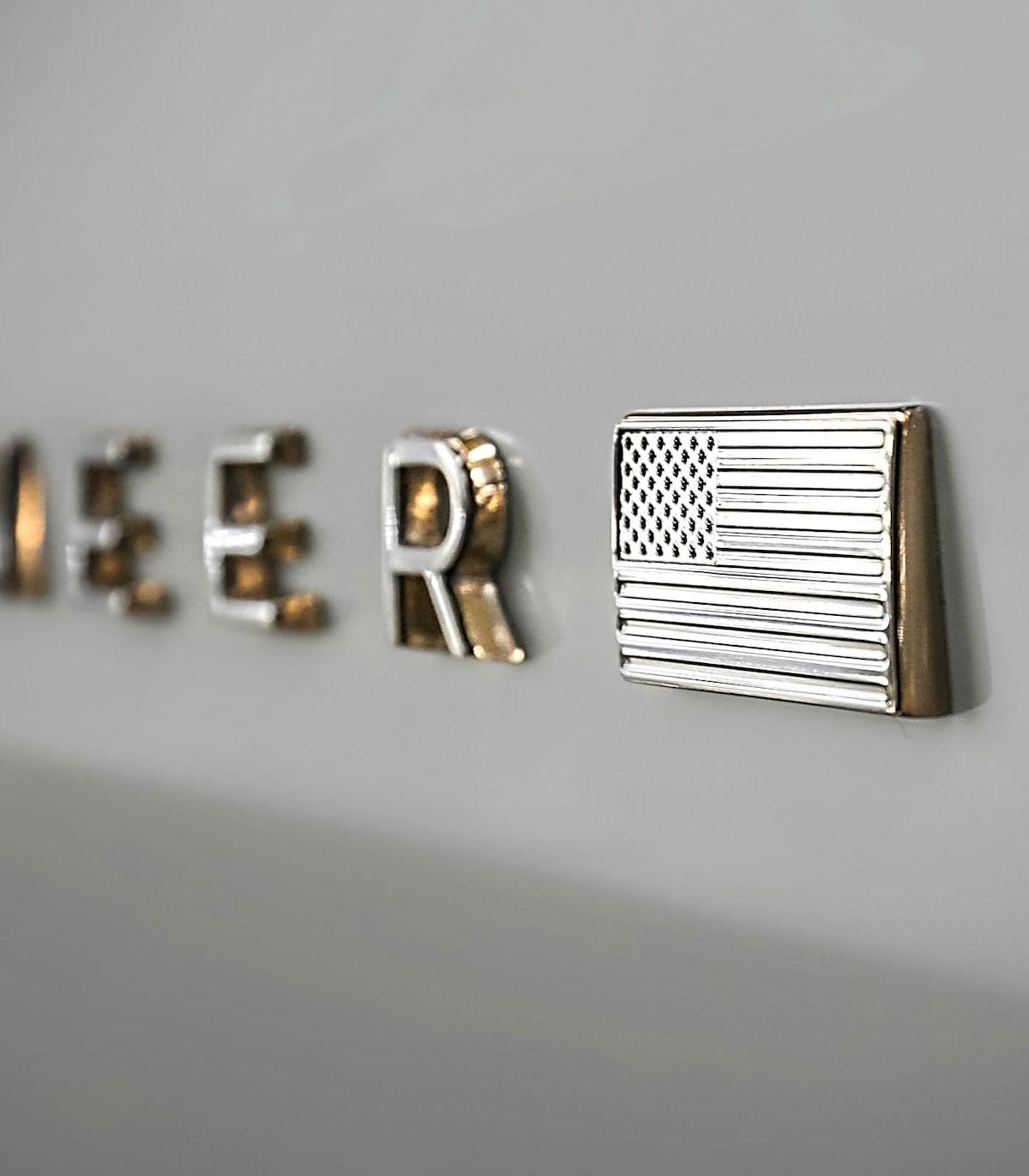 2022 Jeep Grand Wagoneer badge