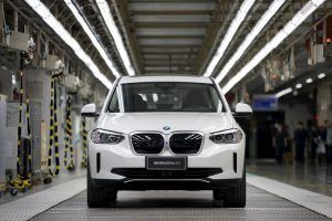 BMW iX3 production Shenyang China
