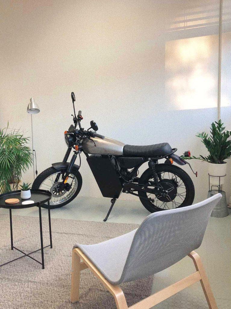 Black Tea electric bike production version 2021
