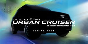 Front of the Toyota Urban Cruiser