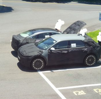 Genesis eG80 with solar roof spied for the first time [Update]