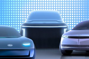 Hyundai Ioniq 7 front teaser