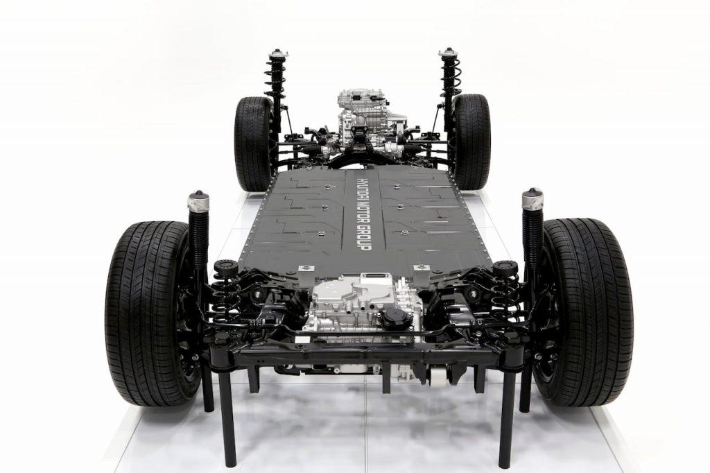 Hyundai Kia Genesis E-GMP platform front