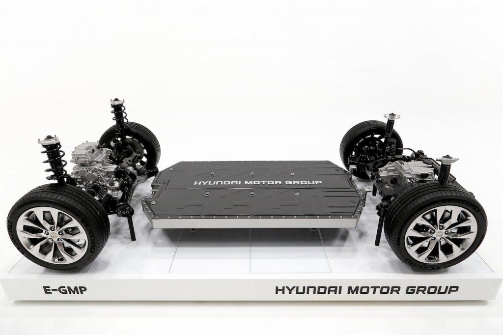 Hyundai Kia Genesis E-GMP platform sides
