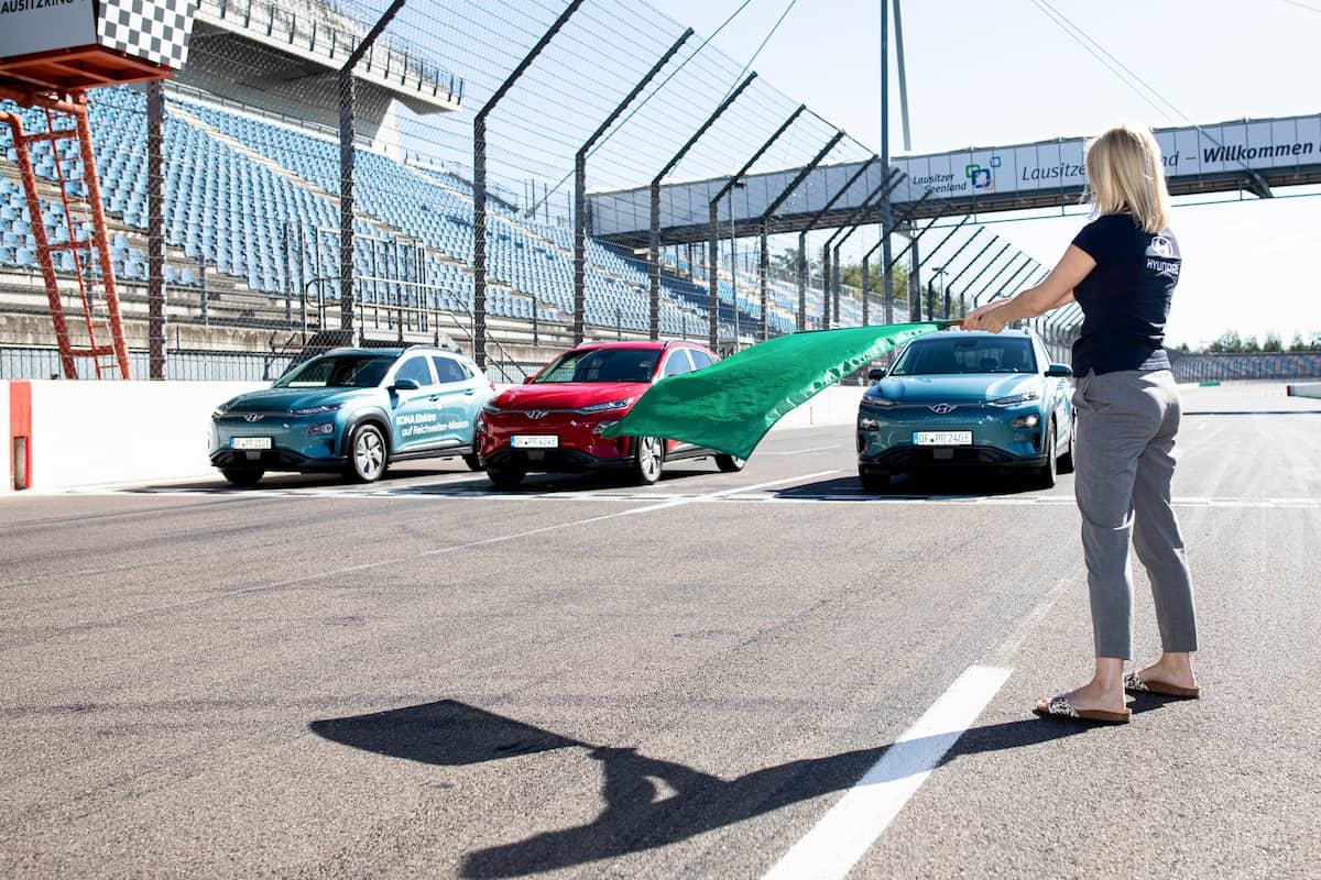 Hyundai Kona Electric 1000 km range