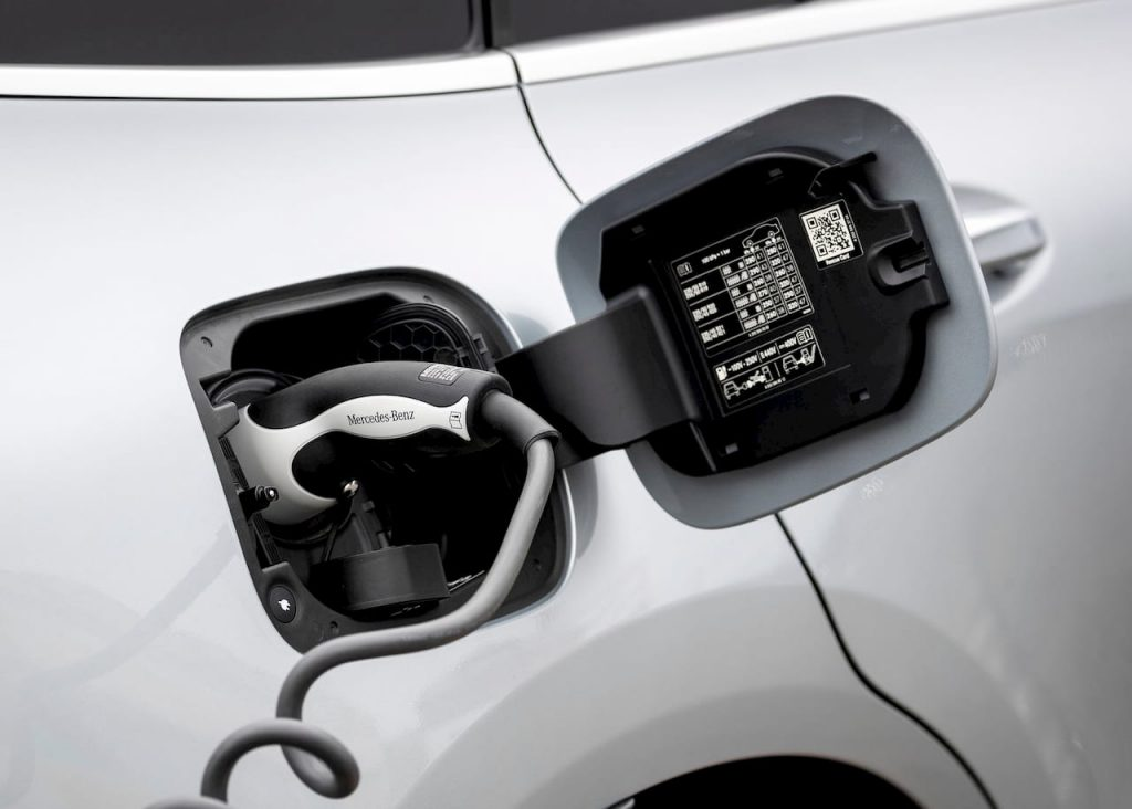 Mercedes EQC charging cable