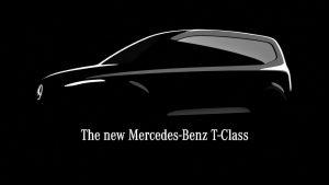 Mercedes T-Class teaser
