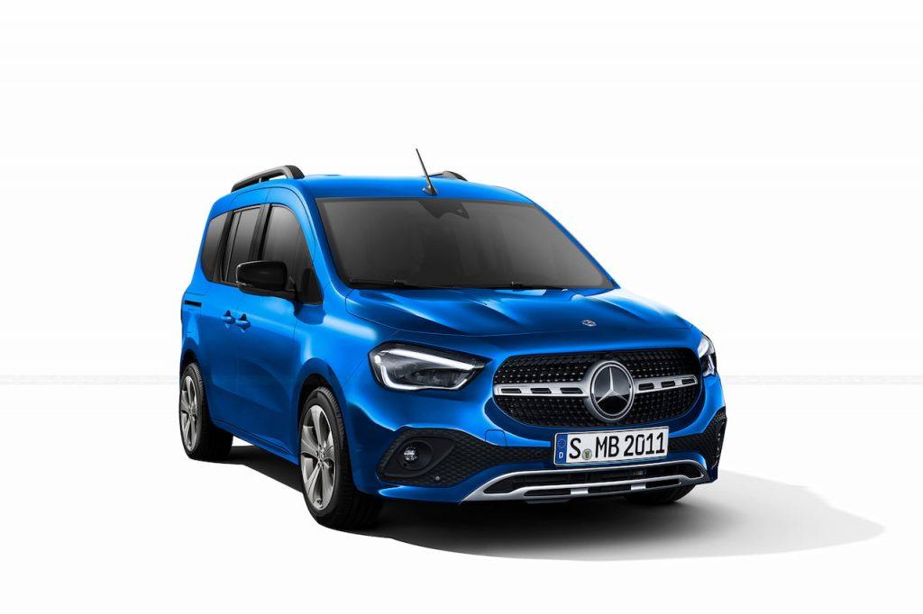 Next-gen Mercedes Citan 2022 rendering