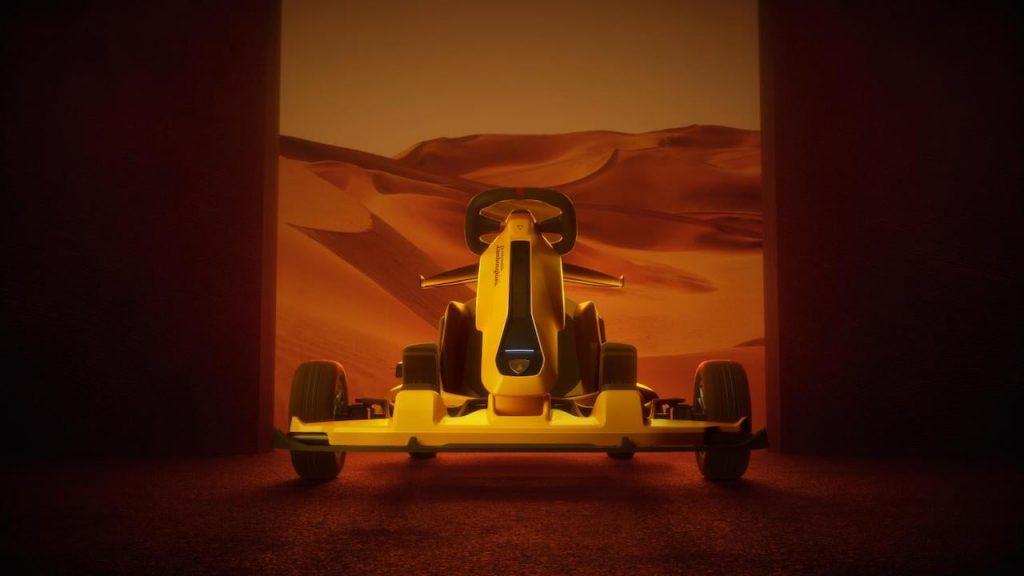 Ninebot GoKart Pro Lamborghini Edition front