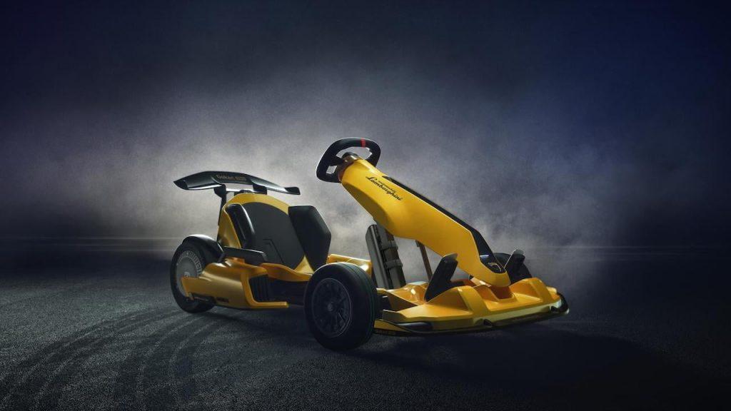 Ninebot GoKart Pro Lamborghini Edition front quarters