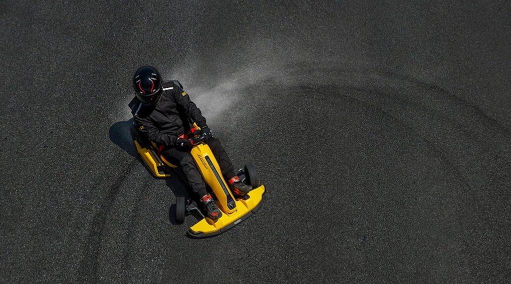 Ninebot GoKart Pro Lamborghini Edition track