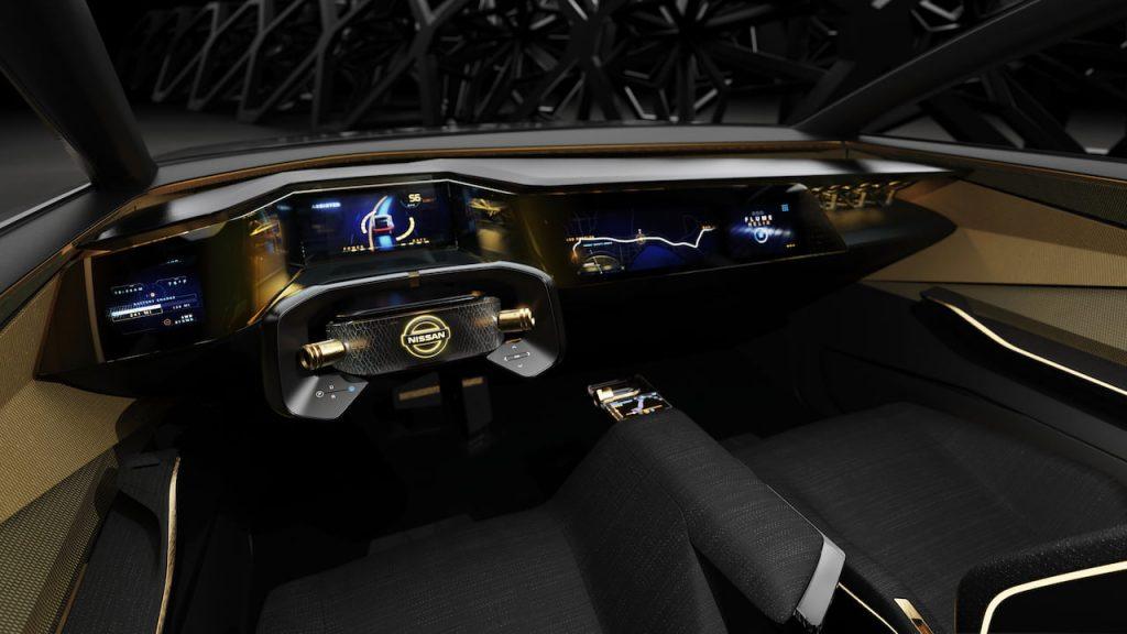 Nissan IMs concept Maxima electric interior dashboard