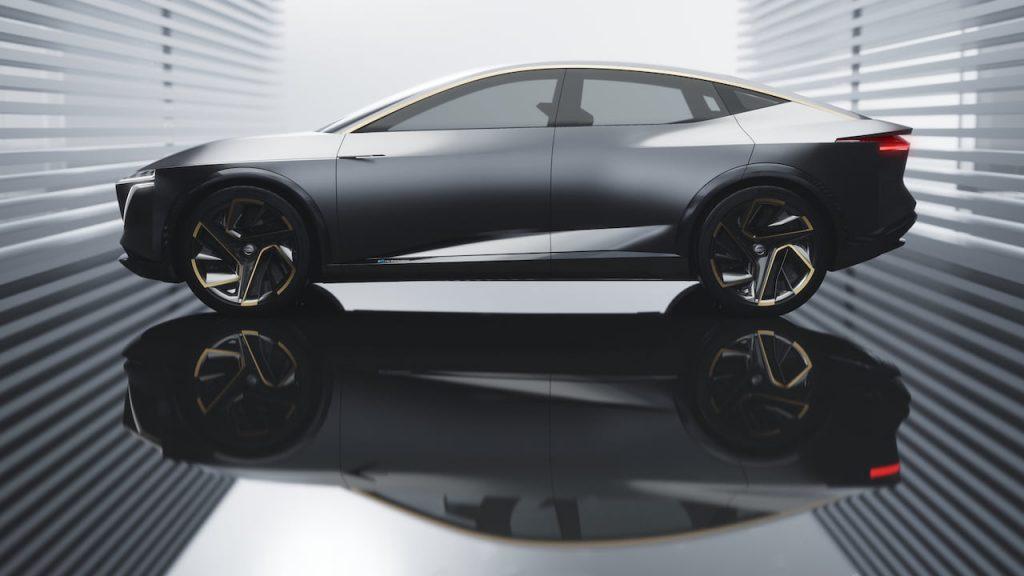 Nissan IMs concept Maxima electric profile side
