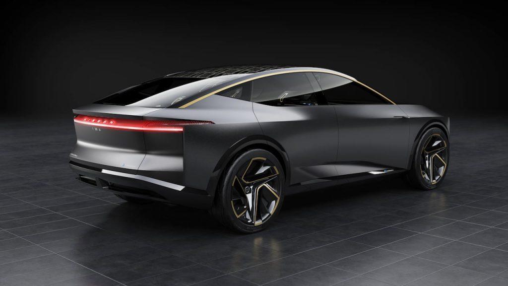 Nissan IMs concept Maxima electric rear quarters