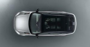 Range Rover family model top view