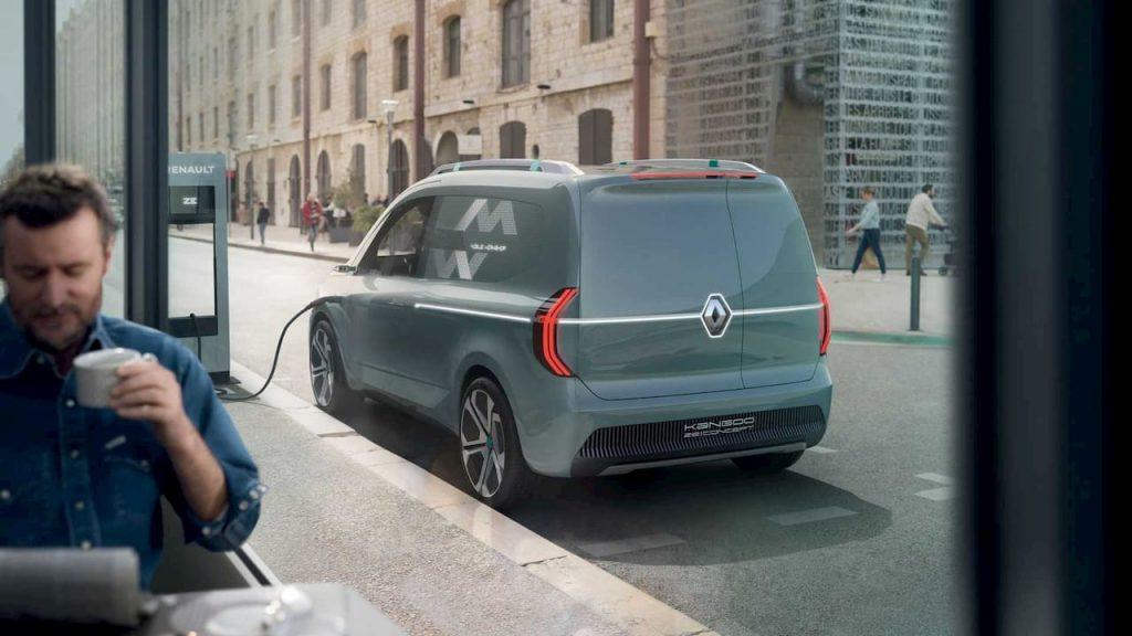 Renault Kangoo ZE Concept rear